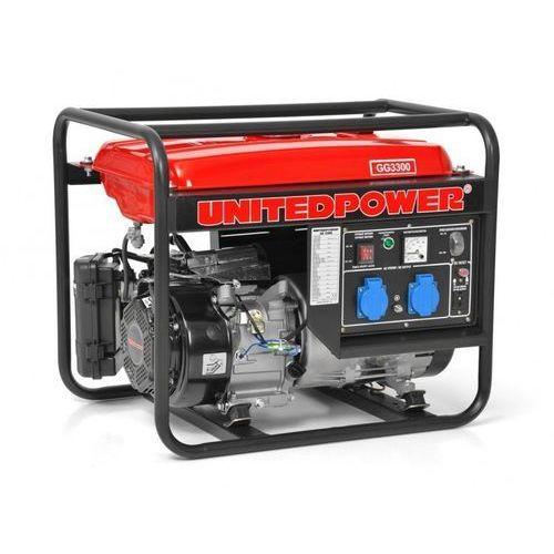 Hecht gg3300 mocny agregat generator prądotwórczy unitedpower 12v 2x230v z avr moc 3kw 3000w ewimax oficjalny dystrybutor - autoryzowany dealer hecht marki Hecht czechy