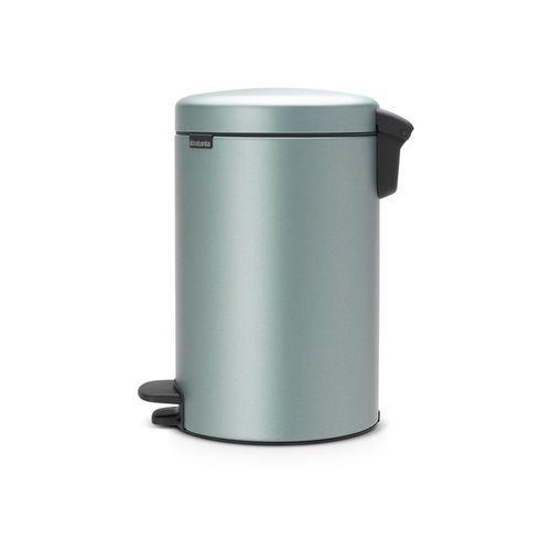 Brabantia Kosz na śmieci pedałowy newicon 12l metaliczny miętowy