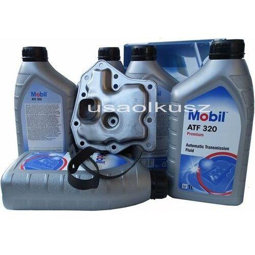 Filtr oraz olej Mobil ATF-320 automatycznej skrzyni biegów Nissan Maxima 3,0 -1997