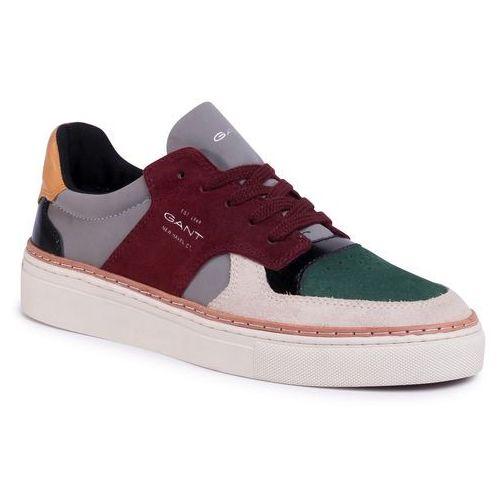 Gant Sneakersy - mc julien 20639495 green/sl. gray/w. red
