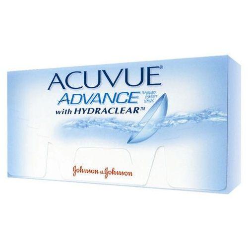 Soczewki johnson&johnson acuvue advance 6 szt marki Johnson & johnson
