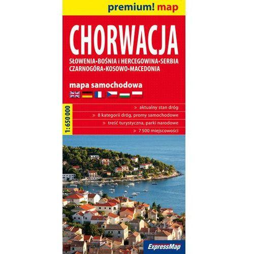 Chorwacja mapa samochodowa 1:650 000 (ISBN 9788375463187)