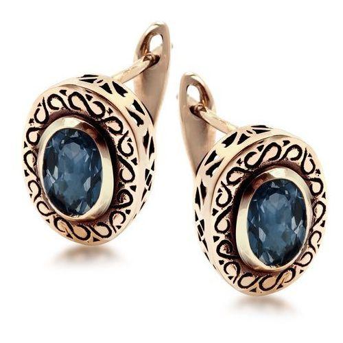 Biżuteria yes Kolekcja wiktoriańska - kolczyki z szafirem