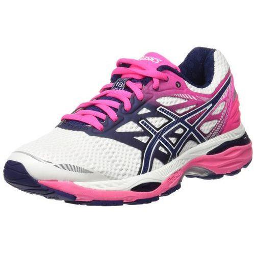 Asics  gelcumulus 18 obuwie do biegania treningowe white/indigo blue/hot pink (8718833817192)