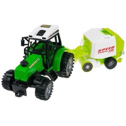 Kindersafe Zestaw 4 traktorów + maszyny rolnicze dla małego rolnika