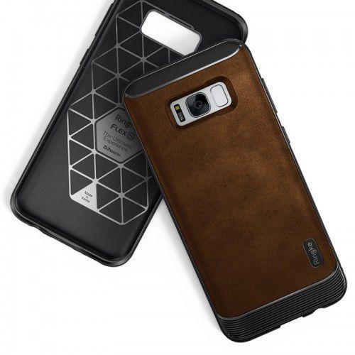 Etui Ochronne Ringke Flex Samsung S8 Plus - Brązowy, kolor brązowy
