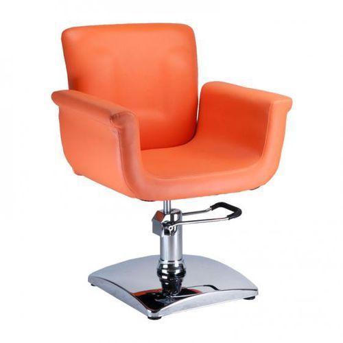 Fotel fryzjerski ELIO BD-1038 pomarańczowy z kategorii Akcesoria fryzjerskie