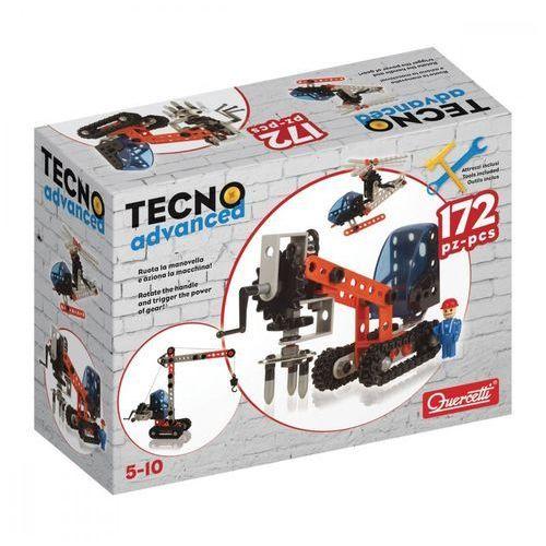 Quercetti Zestaw konstrukcyjny tecno advanced 172 elementy
