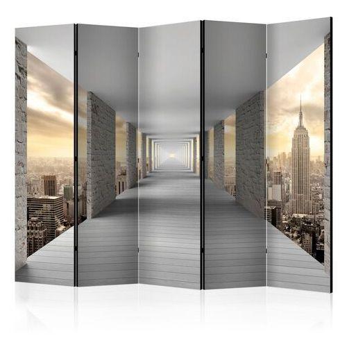 Parawan 5-częściowy - podniebny korytarz ii [room dividers] marki Artgeist