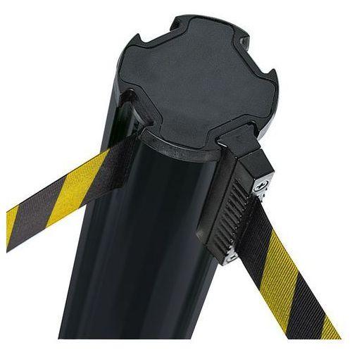 Słupek z pasem z tworzywa,maks. wysunięcie taśmy 3700 mm marki Via guide