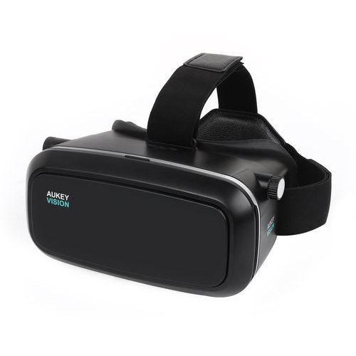 aukey 3d VR Okulary zestaw słuchawkowy do filmów 3d i video game z 3.7
