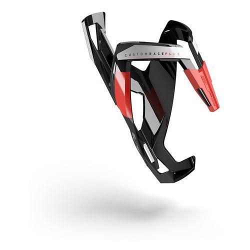 Elite custom race plus - koszyk na bidon (czarno-czerwony) (8020775023709)