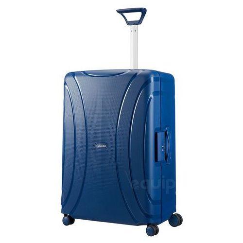 American tourister Walizka duża lock'n'roll + gratis poduszka podróżna - nocturne blue