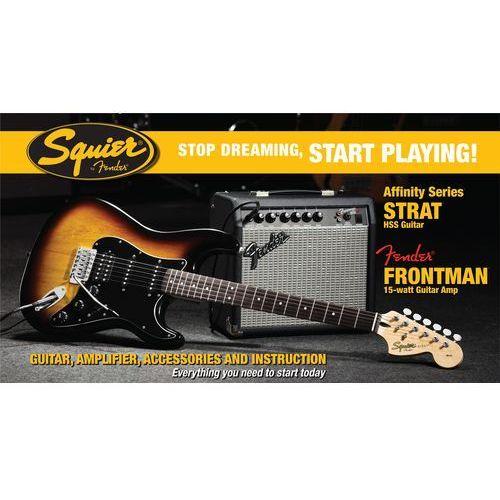 squier affinity pack stratocaster hss 15g bsb marki Fender