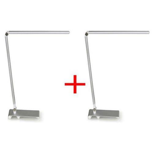 B2b partner Lampa stołowa silvan, srebrna, 1 + 1 gratis