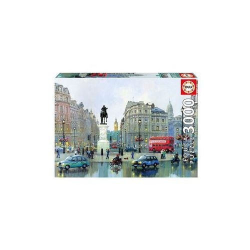 Puzzle 3000 Charning Cross Londyn - Educa Borras, 482321