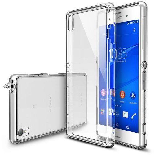 Obudowa Rearth | Etui Ringke Fusion Case + Folia ochronna | Sony Xperia Z3 | kolor Crystal View - Crystal (8809419552511)