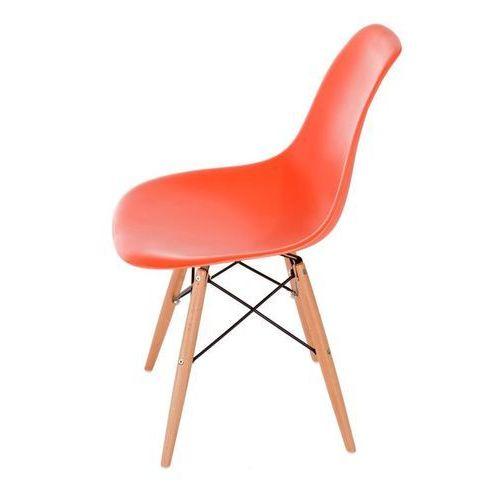 Krzesło P016W PP inspirowane DSW - pomarańczowy, kolor pomarańczowy