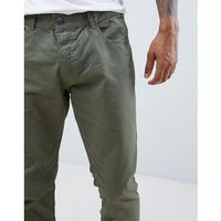 slim 5 pocket chinos - green, French connection