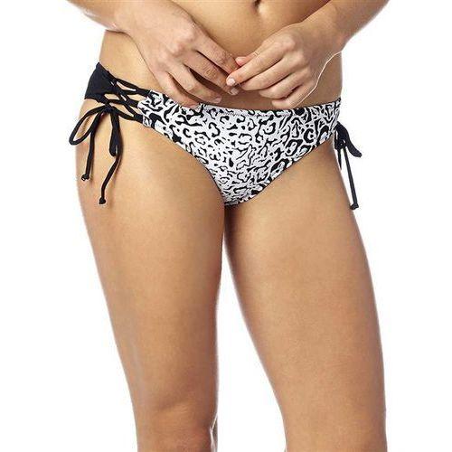 Strój kąpielowy - speed lace up side tie black (001) marki Fox
