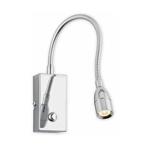 Lemir bari flex led ii o2223 k1 ch kinkiet lampa ścienna 1x2,5w led 4000k chrom