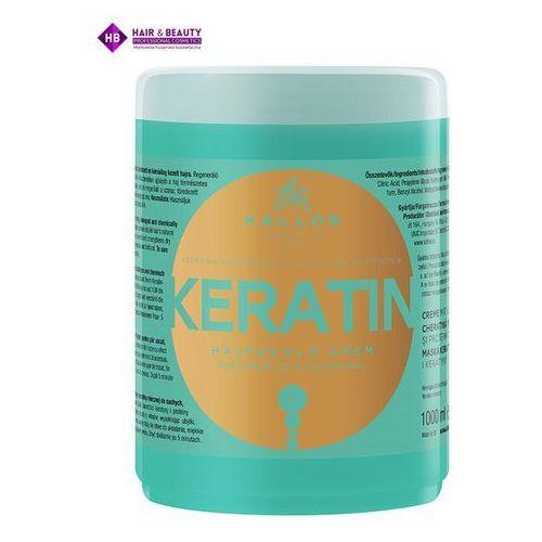 Kallos Keratin maska do włosów z keratyną 1000ml (5998889508142)