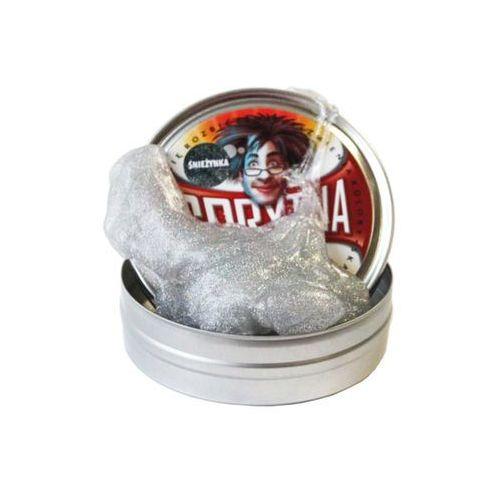 Sprytna Plastelina - Brokat Śnieżynka