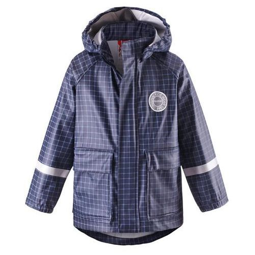 dziecięca kurtka przeciwdeszczowa vihma, 104, niebieska marki Reima