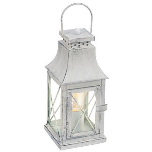 Lampa stołowa vintage lisburn szara, 49294 marki Eglo