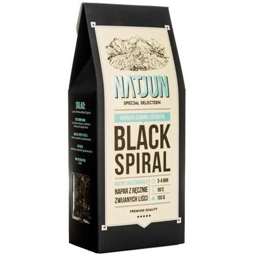 Natjun herbata czarna black spiral 100g
