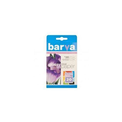 Papier fotograficzny BARVA Glossy (błyszczący) 10x15 230 gr - 20 szt., 137485