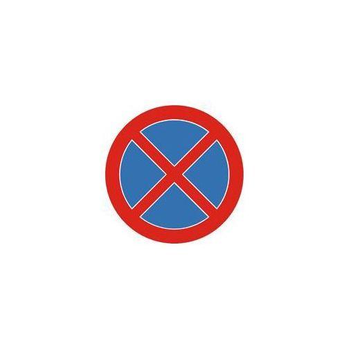 Znak drogowy zakazu B-36 Zakaz zatrzymywania się