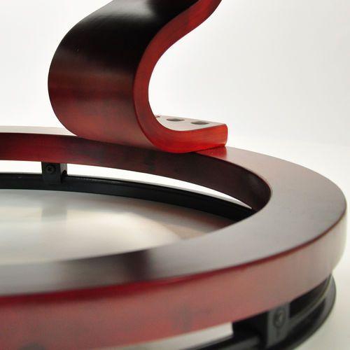 OKAZJA - Fotel masujący wypoczynkowy biurowy masaż grzanie - brązowy marki Regoline