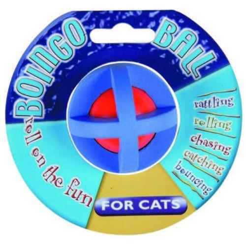 Mała piłka dla kotów z dzwoneczkiem w środku marki Happypet
