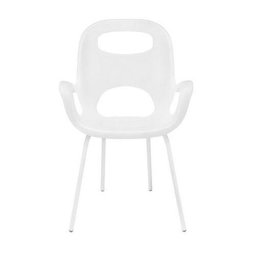 Umbra - 2 krzesła oh chair - białe - biały