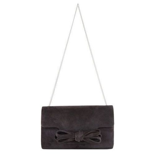 Phase Eight Elena Suede Bow Clutch Bag (5038775912964)