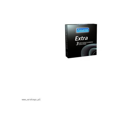 Prezerwatywy Pasante - Extra (1 op. / 3 szt.)