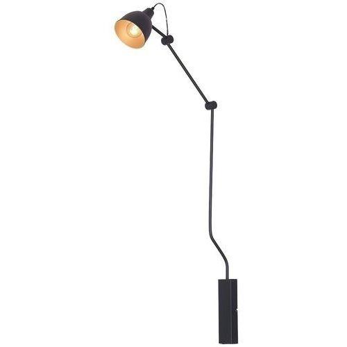 Lampa oprawa ścienna kinkiet bibi 1x60w e27 czarna 843c marki Aldex