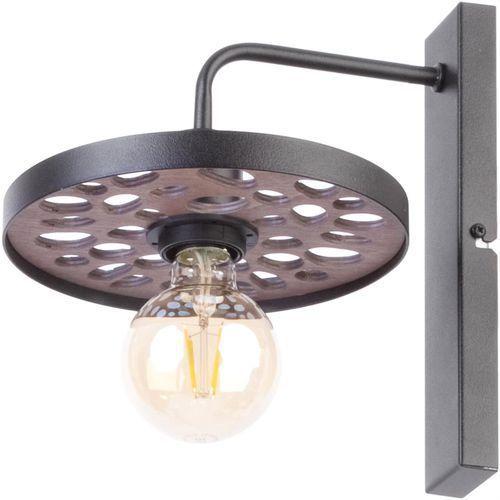Sigma Magnum Stone Koło 31730 kinkiet lampa ścienna 1x60W E27 czarny (5902846816843)