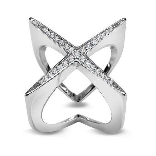 1458d470a9a013 OKAZJA - Scarlett - srebrny pierścionek z cyrkoniami marki Biżuteria yes ...