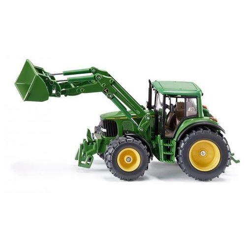 farmer traktor john deere z przednia ladowarka-siku marki Siku