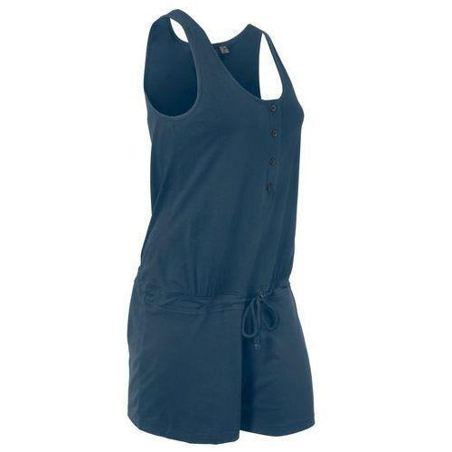 Kombinezon shirtowy bonprix ciemnoniebieski