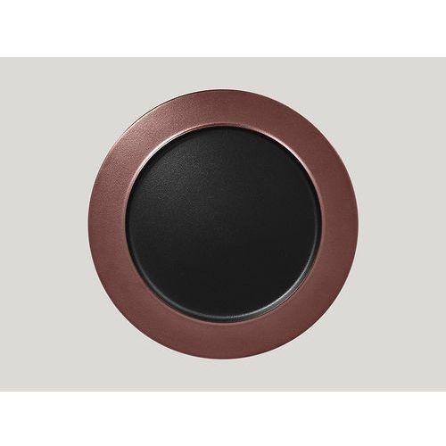Rak Talerz płaski z rantem 320 mm, brązowy | , metalfusion