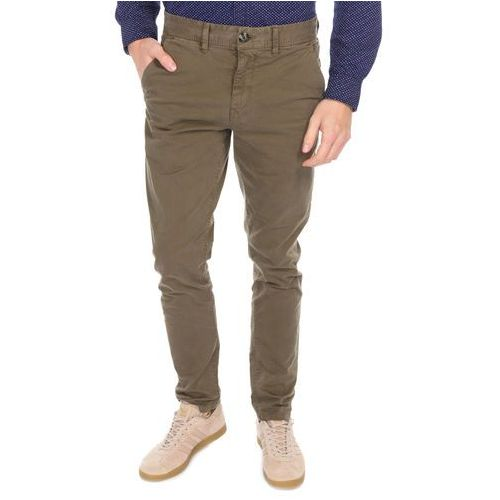 Pepe Jeans Blackburn 2 Tone Trousers Zielony 28/32