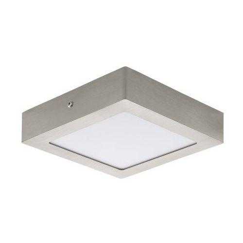 Eglo Plafon fueva 1 32444 lampa sufitowa 1x12w led nikiel/biały (9002759324445)