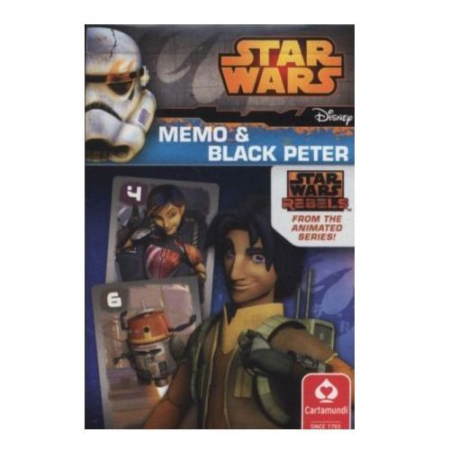 OKAZJA - Czarny piotruś/memo - star wars rebel marki Cartamundi