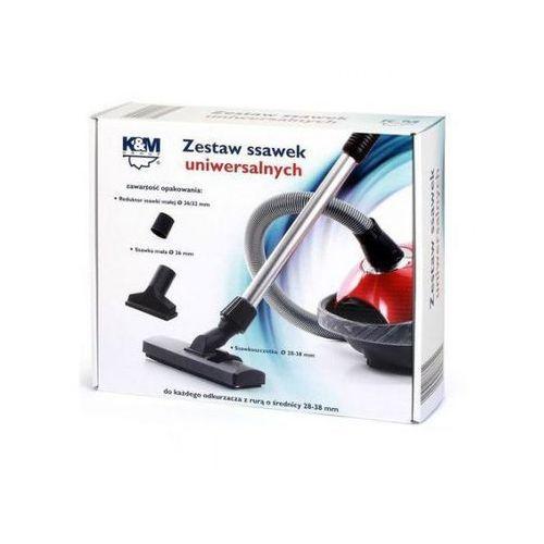 KM Zestaw ssawek KM SS12 Uniwersalne + Reduktor 30-37mm (5907804887620)