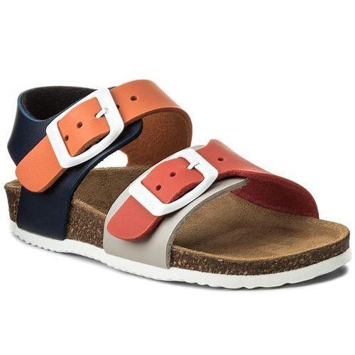 Sandały GARVALIN - 172346 H-Multicolor, kolor wielokolorowy