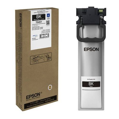 Epson tusz black t9451 xl, c13t945140