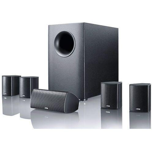 movie 135 czarny - zestaw głośników kina domowego | poczuj filmowe emocje! | raty 0% marki Canton